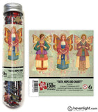 Faith Hope & Charity Test Tube Itsy Bitsy Puzzle
