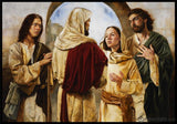 Marthas Witness Of Christ Open Edition Print / 10 X 7 Only Art