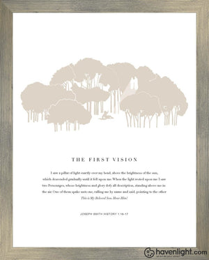 The First Vision Art