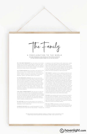 The Proclamation To Family Oep