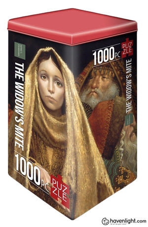 Widows Mite Puzzle By James Christensen (1000 Pcs)
