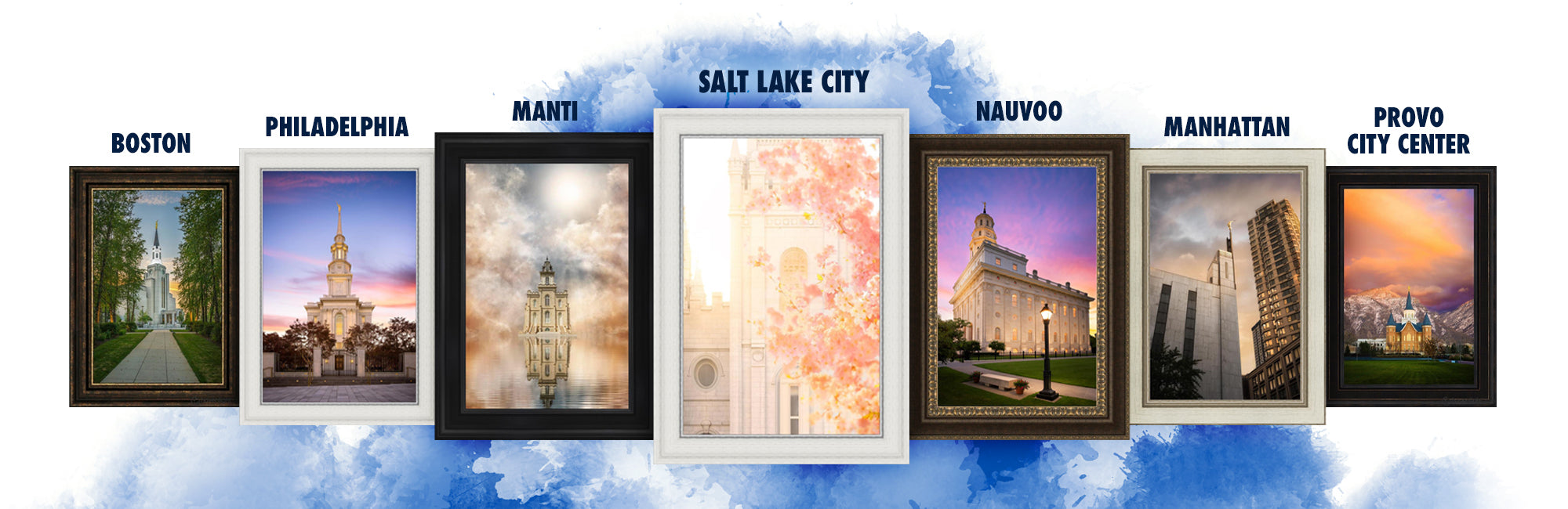 LDS Temples by Name   Temple Art & Pictures