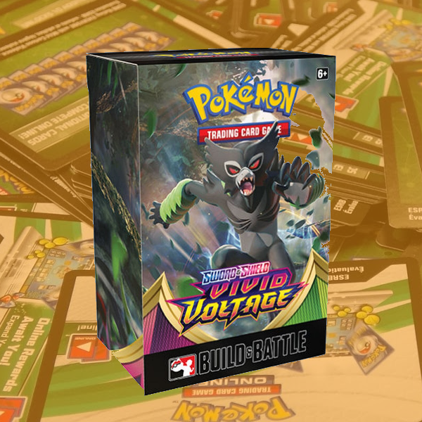 Vivid Voltage - Build And Battle Kit - PTCGO Code