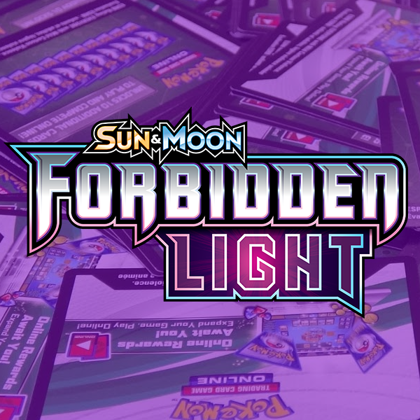 Sun & Moon - Forbidden Light PTCGO Code