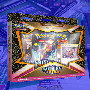 Shining Fates Bunnelby Pin Collection - PTCGO Code