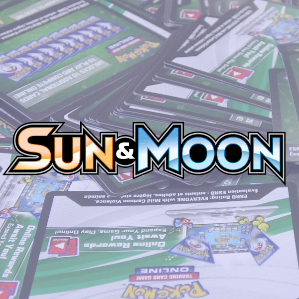Sun & Moon - Base Set PTCGO Code