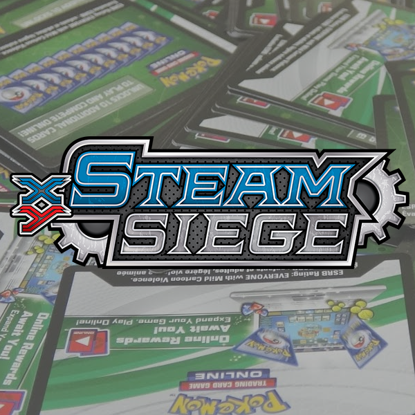 XY Steam Siege PTCGO Codes