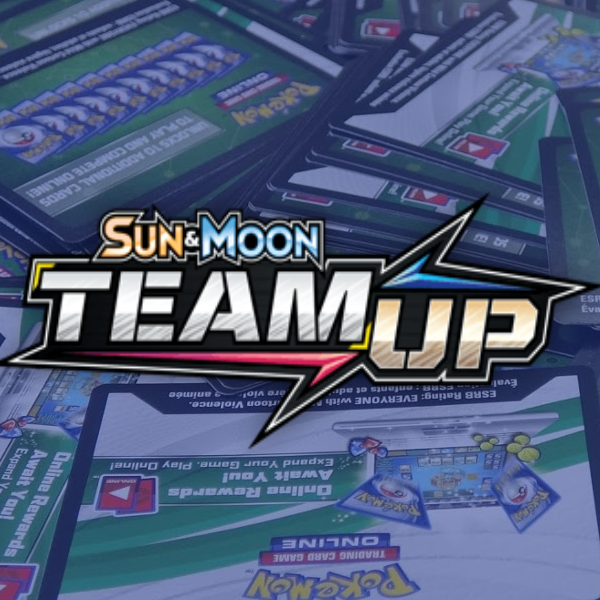Sun & Moon - Team-Up PTCGO Code