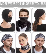 Load image into Gallery viewer, Graffiti Skull Seamless Neck Gaiter Tube Bandana