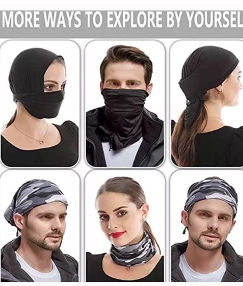 Graffiti Neck Gaiter Face Mask Tube Bandana