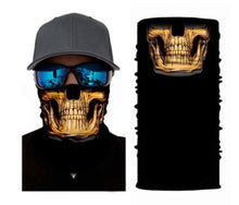 Load image into Gallery viewer, Skull Seamless Neck Gaiter Tube Bandana