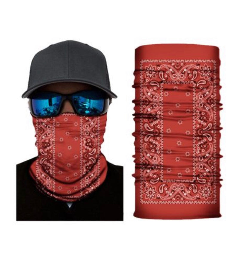 Paisley Collection Neck Gaiter Face Mask Bandana - Ships Next Day USPS First Class!