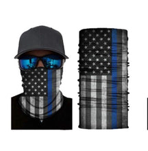 Load image into Gallery viewer, Police Neck Gaiter Tube Bandana