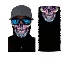 Load image into Gallery viewer, Skull Seamless Neck Gaiter Face Mask Bandana