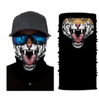 Load image into Gallery viewer, Tiger Face Mask Covering Bandana Gaiter  - Ships Next Day USPS First Class