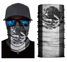 Load image into Gallery viewer, Mexican Flag Neck Gaiter Balaclava Unisex Face Mask