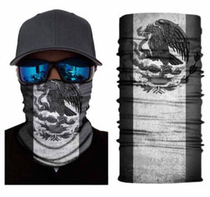 Mexican Flag Neck Gaiter Balaclava Unisex Face Mask