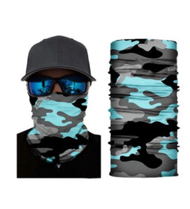 Camouflage Face Mask Bandana Neck Gaiter - Ships Next Day USPS First Class!