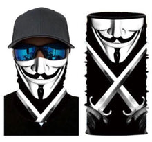 Load image into Gallery viewer, V for Vendetta Neck Gaiter Face Mask Bandana