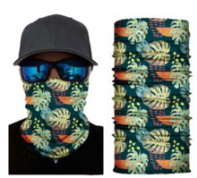 Load image into Gallery viewer, Tropical Neck Gaiter Tube Bandana