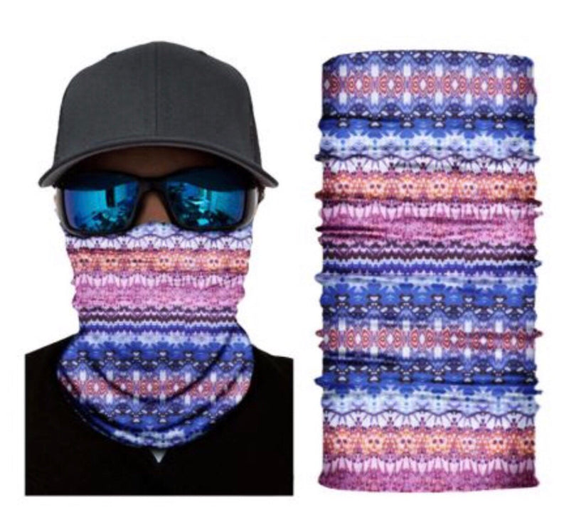 Tribal Neck Gaiter Face Mask Bandana