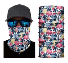 Load image into Gallery viewer, Flower Neck Gaiter Face Mask Bandana