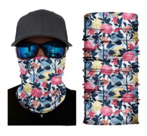 Flower Neck Gaiter Face Mask Bandana