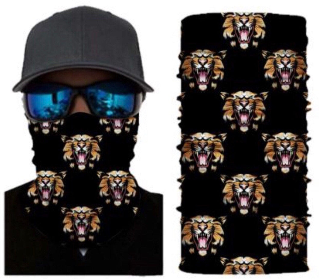 Tiger Neck Gaiter Face Mask Bandana