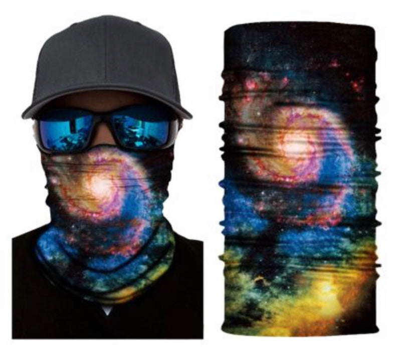 Galaxy Neck Gaiter Face Cover New