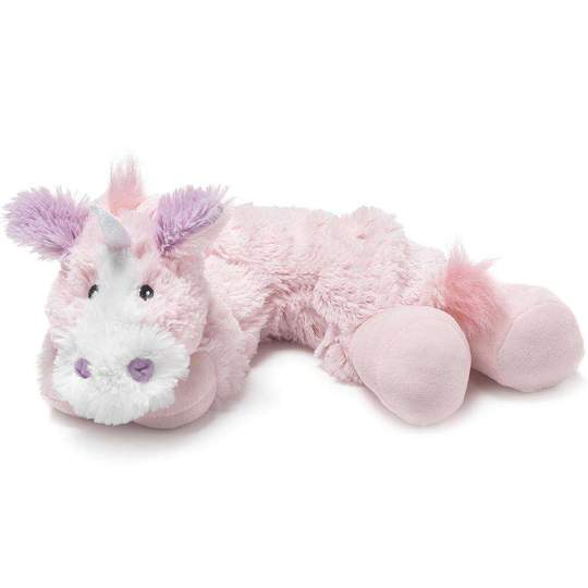 "Load image into Gallery viewer, Unicorn Warmies Plush Wrap (20"")"