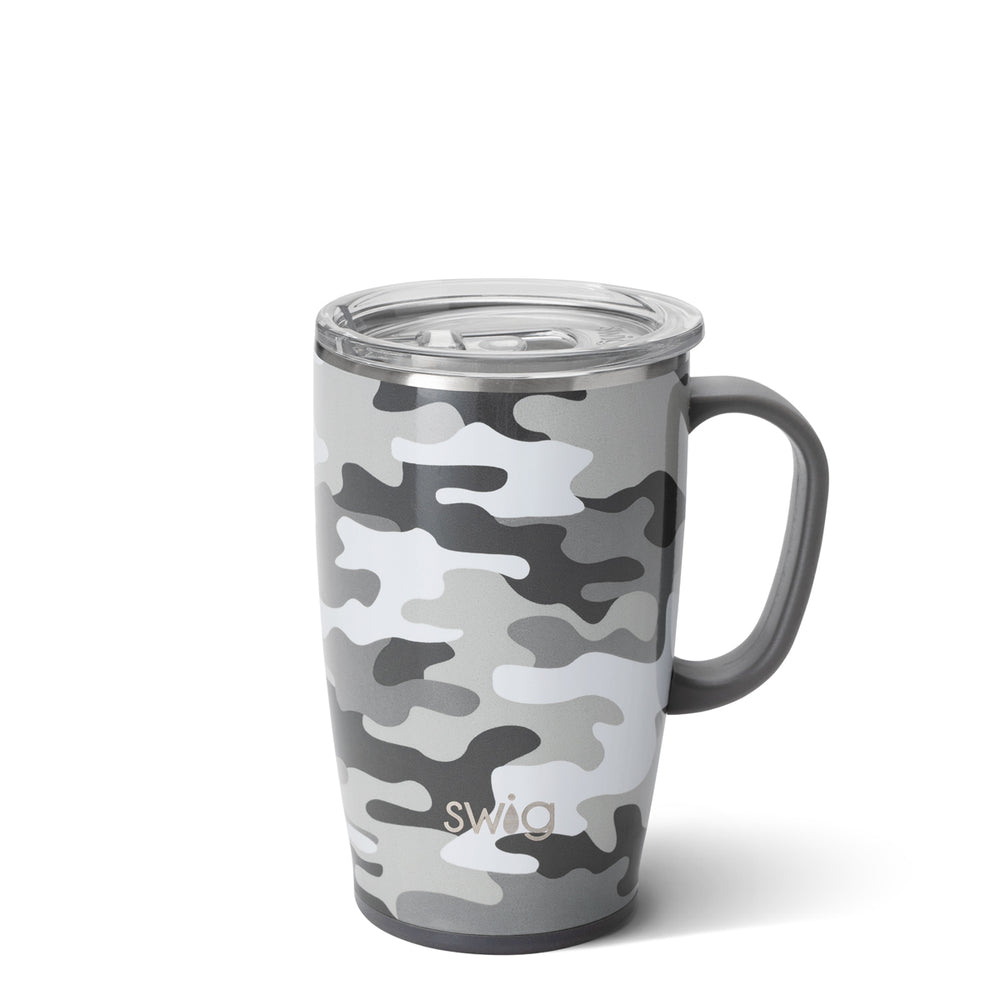 Load image into Gallery viewer, INCOGNITO CAMO TRAVEL MUG (18OZ)