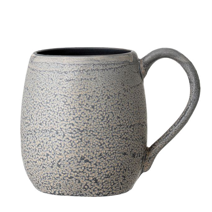 Load image into Gallery viewer, Stoneware Mug, Grey Matte Reactive Glaze