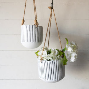 Load image into Gallery viewer, Metal Hanging Planters