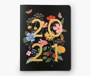Load image into Gallery viewer, 2021 Wild Garden 12 Month Appointment Notebook