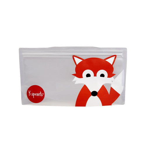 Load image into Gallery viewer, Fox Snack Bag (2 Pack)