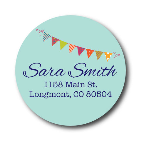 Bunting Address Label