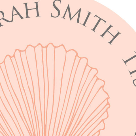 Seashell Address Label