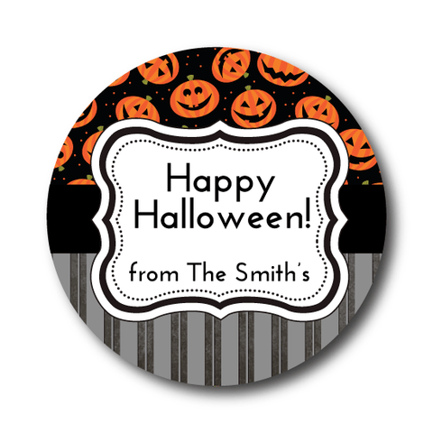 Classic Pumpkin Halloween Sticker
