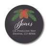 Pinecone Address Label
