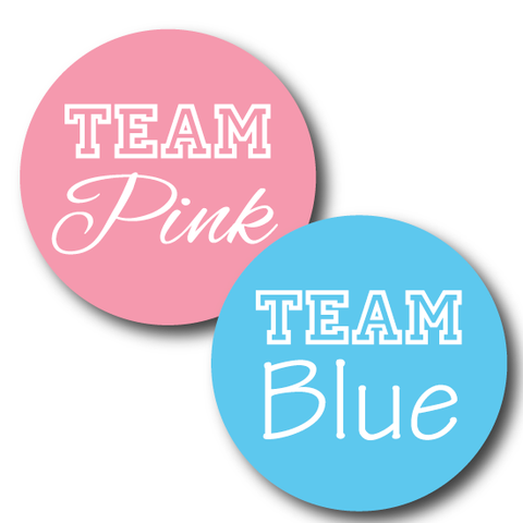 Team Pink and Team Blue