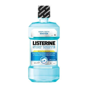 Enjuague Bucal Stay White Listerine (1000 ml)