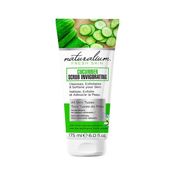 Crema Exfoliante Cucumber Naturalium (175 ml)