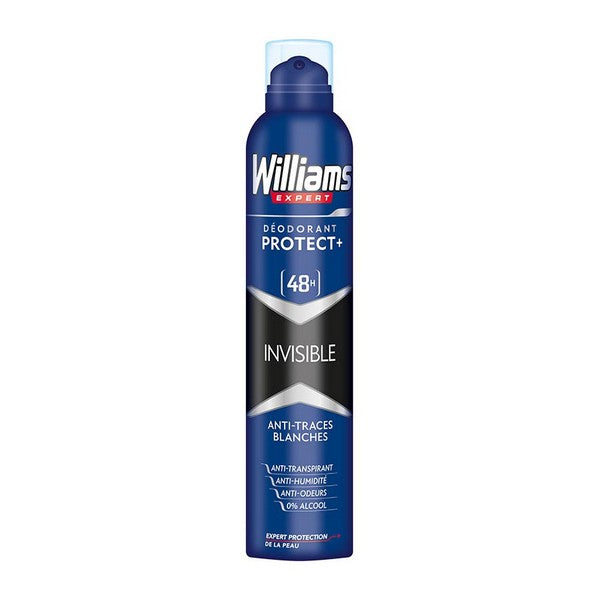 Desodorante en Spray Invisible Williams (200 ml)