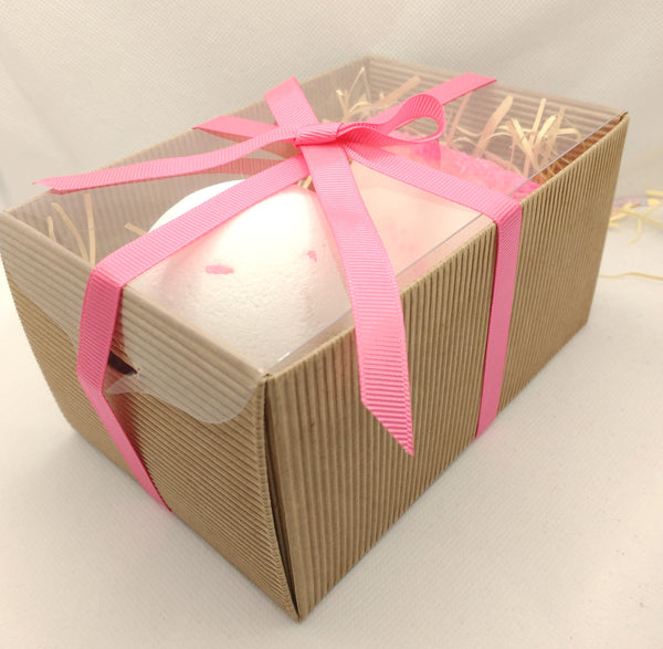 Handmade Soap and Bath Bomb Gift Set Coconut Dream