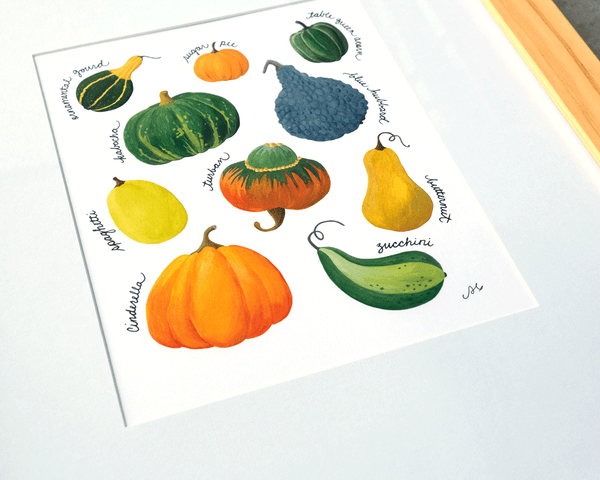 Know Your Gourds Chart