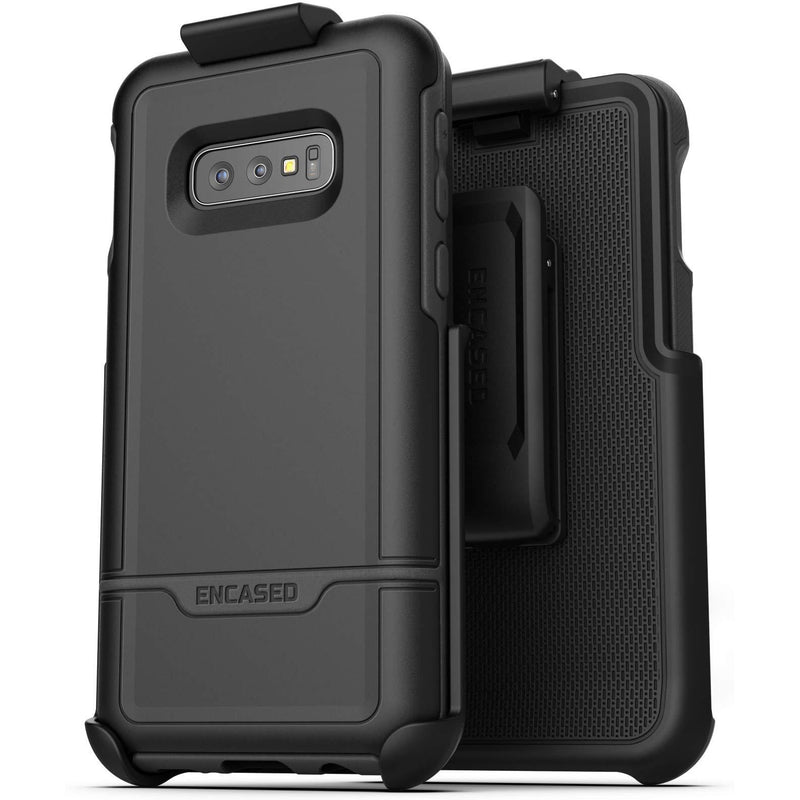 Étui Encased Rebel Samsung S10e avec Holster - Noir - Cellcom Communications