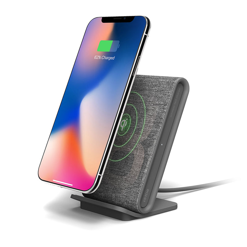 iOttie  CHWRIO104GR iON Wireless Fast Charging Stand Qi 10W Grey
