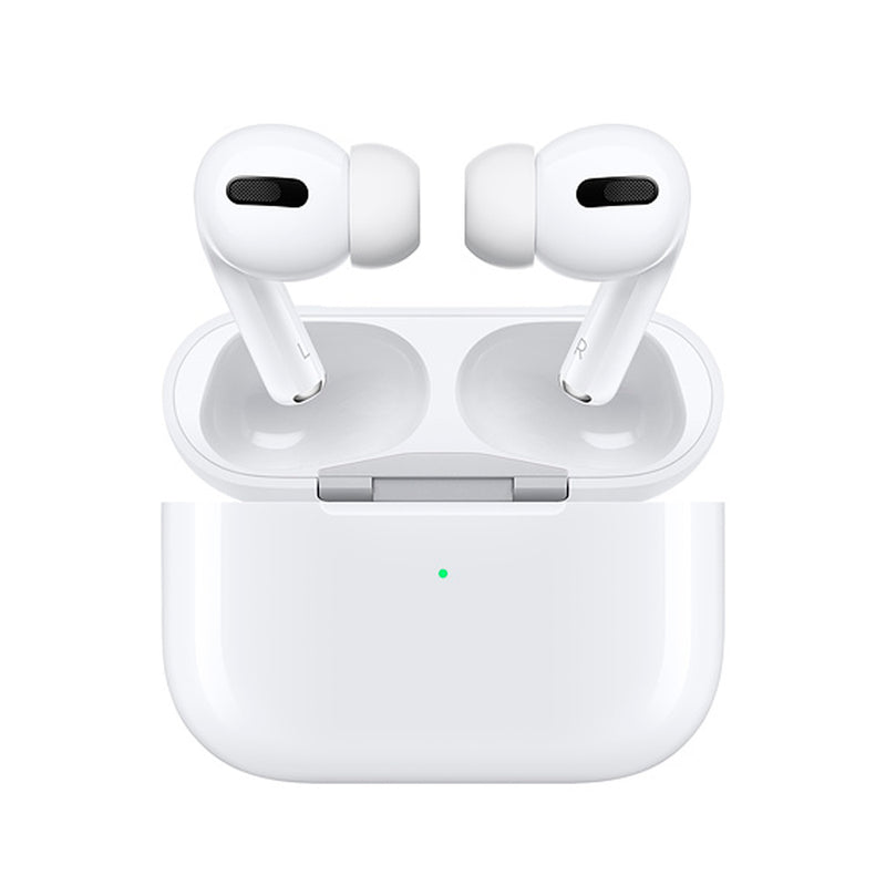 Apple  MWP22AMA AirPods Pro BT Headphone w/Wireless Charging Case White