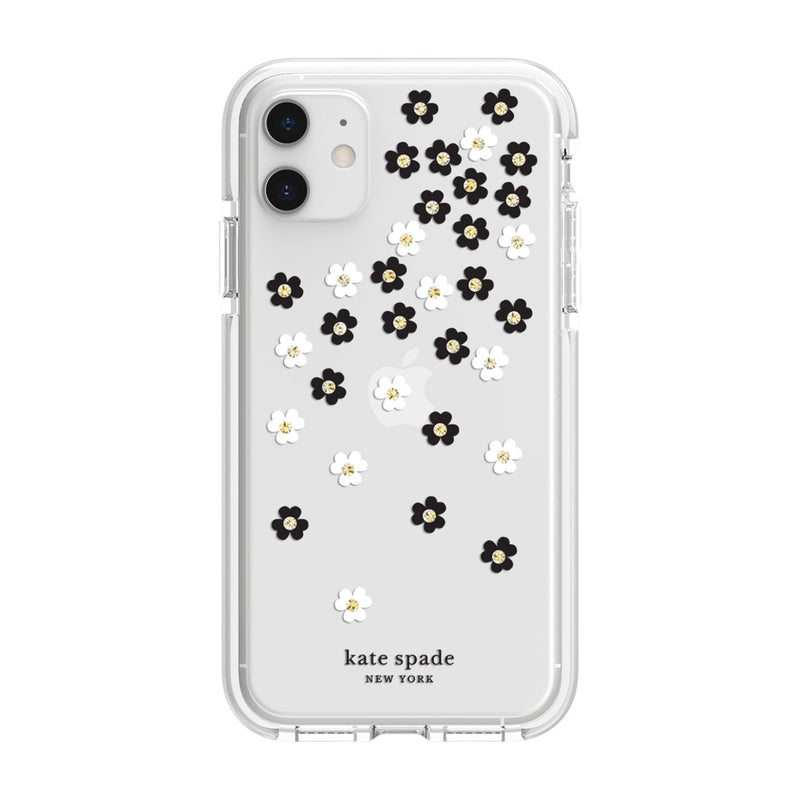 Kate Spade  KSIPH134SFLBW Defensive iPhone 11 Scattered Flowers
