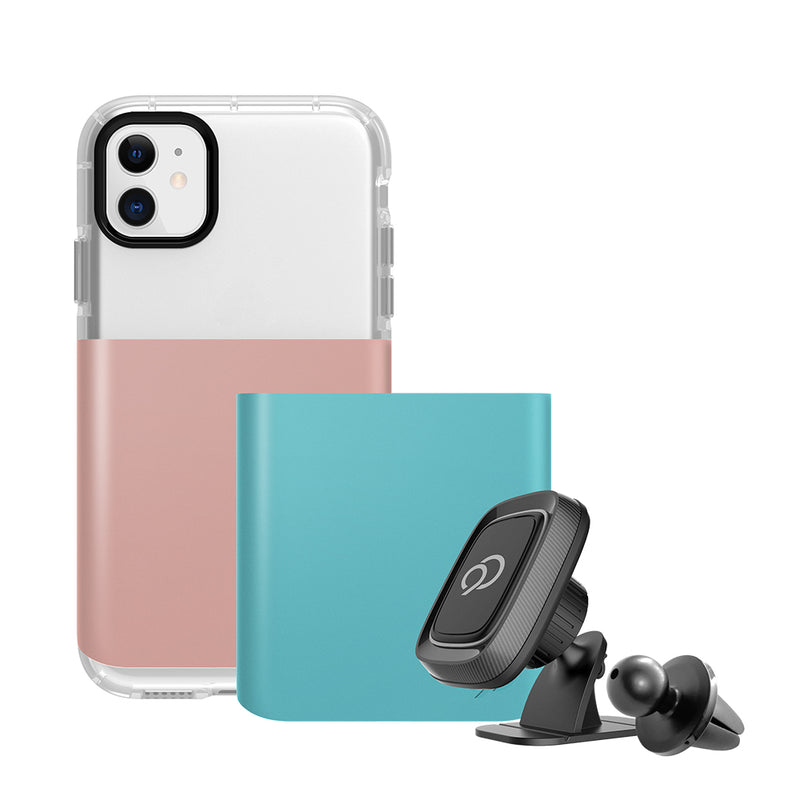 Nimbus9  Api6119N9G2PRG Ghost 2 Pro iPhone 11 Rose Gold/Blue
